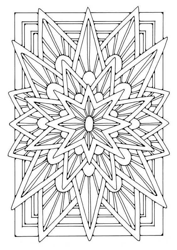 Mandalas De Estrellas Para Colorear Spanish Family Group